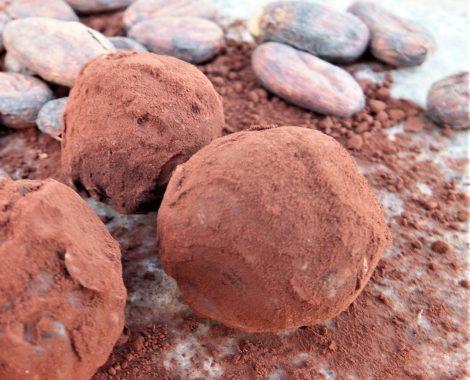 triple chocolate water-based truffle